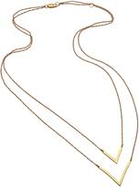 Joie Jennifer Zeuner Tila Double V Necklace