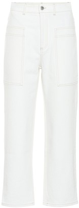 Stella McCartney High-rise straight-leg jeans