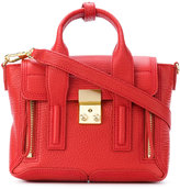 3.1 Phillip Lim gold tone hardware satchel - women - Leather - One Size