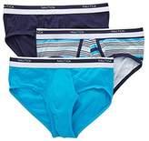 Nautica Men's Classic Underwear Cotton Stretch Brief-Multi Pack