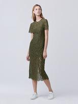 Diane von Furstenberg Carly Lace Midi Dress