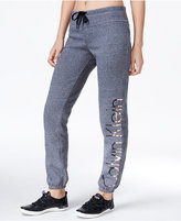 Calvin Klein Metallic Logo Sweatpants