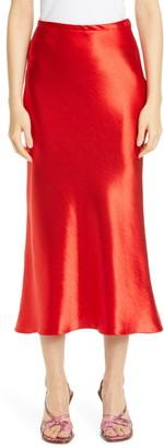 Sies Marjan Satin Midi Skirt