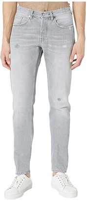 Eleventy Five-Pocket Jeans in Light Grey (Light Grey) Men's Jeans