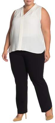 Amanda & Chelsea Leighton Signature Straight Leg Pants (Plus Size)