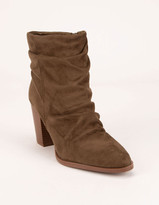 Shopping Special: Qupid Womens Brammer 50 Booties Stacked