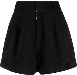 Manokhi high waisted shorts