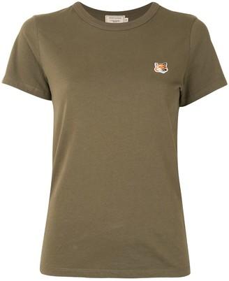 MAISON KITSUNÉ crew-neck cotton T-shirt