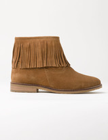 Boden Fringed Suede Boots