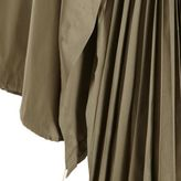 Band Of Outsiders Pleated Side Hooded Batwing Trench