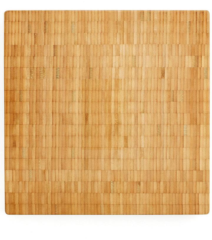 """ Martha Stewart Collection 14x14 End Grain Board"""