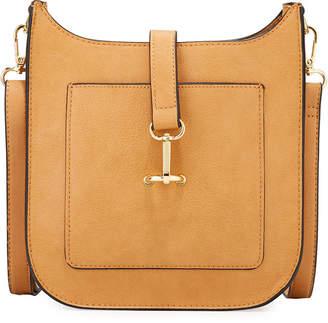Neiman Marcus Martine Faux-Leather Crossbody Bag