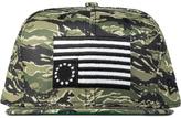 Black Scale Camo Rebel Flag New Era Cap