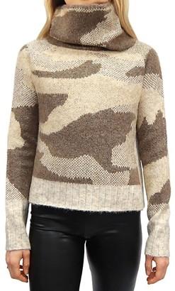 RD Style Camo-Print Sweater