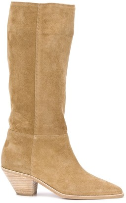 BA&SH Knee-High 60mm Cowboy Boots