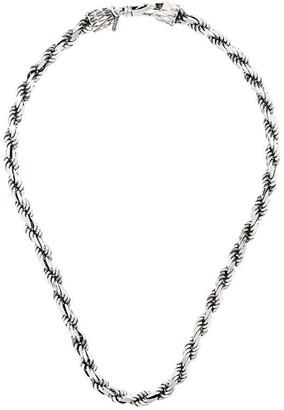 Emanuele Bicocchi Rope Chain Necklace