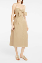 Sea Tie-Front Dress