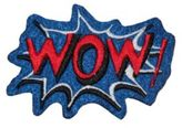 Logophile Embroidered Wow Patch