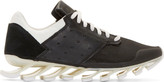 Rick Owens Black & White adidas by Blade Low Sneakers