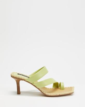 Senso Women's Yellow Heeled Sandals - Mandi - Size One Size, 36 at The Iconic