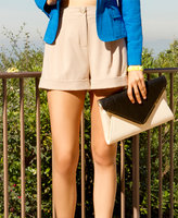 exclusive design High Waist Pleated Shorts