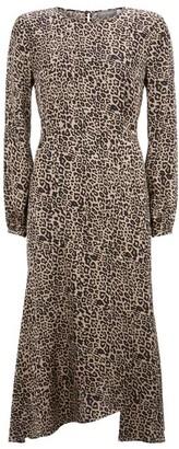 Mint Velvet Philippa Leopard Midi Dress
