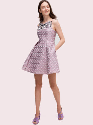 Kate Spade Flora Embellished Dress
