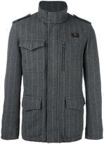 Fay pinstriped sport jacket - men - Wool/Polyester - L
