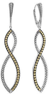 Lagos Infinity Double-Twist Earrings