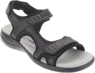 Clarks Collection Leather Comfort Sandals - Saylie Jade