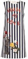 Dolce & Gabbana Embellished Cotton Dress