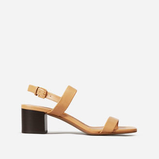 Everlane The Double-Strap Block Heel Sandal