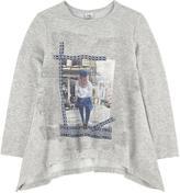 Mayoral Graphic fleece sweater