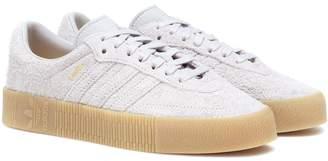 adidas Samba Rose suede sneakers