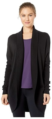 Lole Cozy Cardigan (Black) Women's Clothing