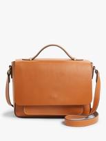 John Lewis & Partners Leather Top Handle Shoulder Bag