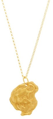 Alighieri Rat 24kt Gold-plated Necklace - Yellow Gold