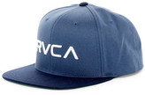 RVCA Twill 5 Panel Snap Back