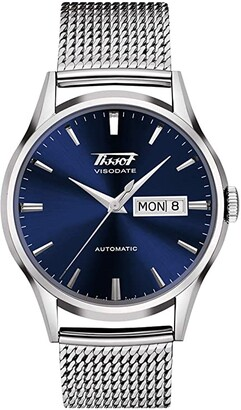 Tissot Heritage Visodate Automatic - T0194301104100 (Blue) Watches