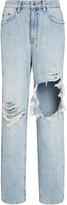 Ksubi Playback Rigid High-Rise Straight-Leg Jeans