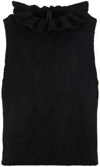 Y.A.S Judie Tank Top Black - XS