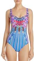 Gottex Sarasana Square Neck One Piece Swimsuit