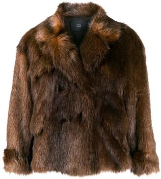 Steffen Schraut faux fur jacket