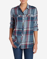 Eddie Bauer Women's Tranquil Long-Sleeve Shirt - Pattern