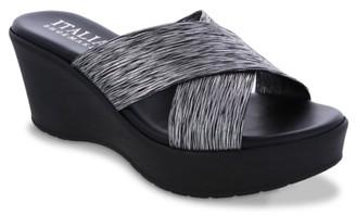 Italian Shoemakers Fianna Wedge Sandal