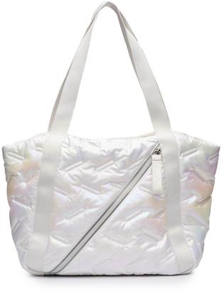 N. Easy Iridescent Tote Bag