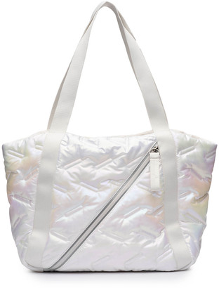 N. Go Dash Dot Easy Iridescent Tote Bag