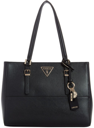 GUESS VG740323BLA Carys Double Handle Tote Bag