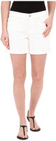 Lucky Brand The Roll Up Shorts in White Cap