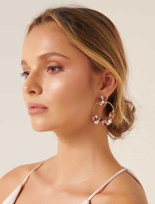 Forever New Tabby Statement Hoop Earrings - Multi - 00